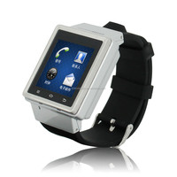 Large screen wrist watch phone, Smart Watch Android Bluetooth Watch S6 Wristwatch Cell Phone MTK6577 Dual Core