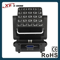 dj lighting disco Auto dmx 5x5 led matrix moving head light