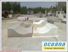 Low Cost Plastic Mould for Concrete Curbstone