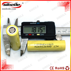 dry battery 3.7v rechargeable battery 18650 lghe4 battery