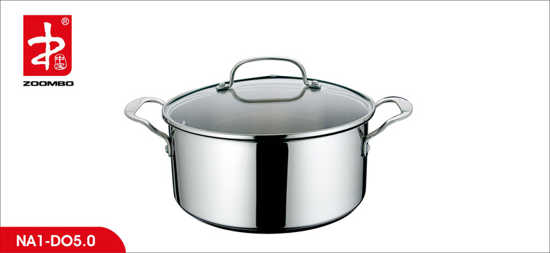 2014 New Arrival Stainless Steel Potobelo Cookware