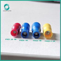 Easy wring FRD series fully insulated female bullet cable battery terminal connectors