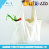 Fashion Double Handles Printed Cotton Bag