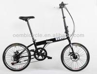 20 inch steel folding racing bicycle mini folding bike