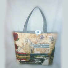 Chinese supplier wholesale vinyl tote bag quilted tote bag