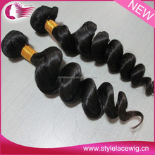 New arrival unprocessed virgin human hair weave full fix hair