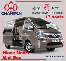 2015 Used Changan hiace model mini bus for sale