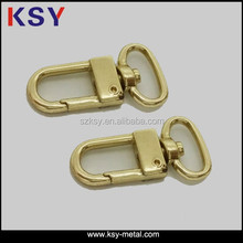 Small Gold metal snap hook for handbag