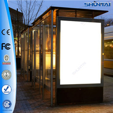 Prefabricated bus shelters scrolling led used billboard signs sale