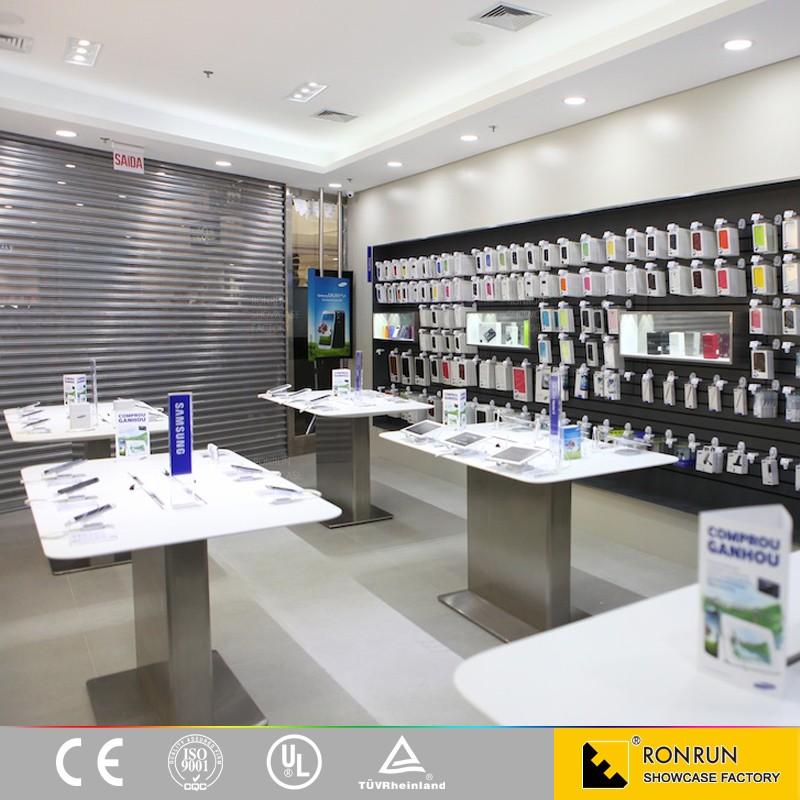 mobile t l phone boutique d coration accessoire de t l phone affichage comptoir de magasin. Black Bedroom Furniture Sets. Home Design Ideas