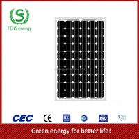 High quality 120w TUV/CE/IEC/MCS Approved Mono Crystalline Solar Panel,Solar Module,Solar System Use