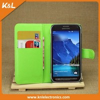 Best Selling Stand Cover PU Leather Flip Wallet case for SamSung Galaxy Trend 2 Lite G318 with Business Card Holder