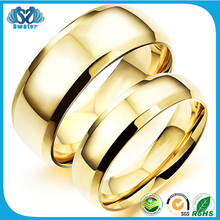 Alibaba Online Shopping Fashion Gold Wedding Rings