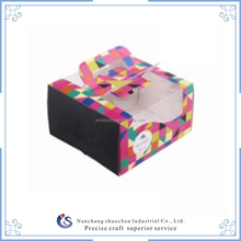 Wholesale custom cake box/mini cupcake boxes, wedding cake box