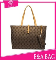 Wolesale cheap hot custom style large capacity ladies handbags leather handbag from China