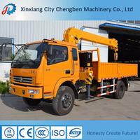 High Efficiency Lifting Grove Hydraulic Truck Crane