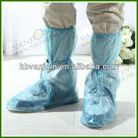 Long PVC Clear Rain Boots