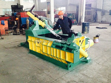 Y81-1250 Manul Operation Rubbish Scrap Recycling Baler hardox steel plate inner room