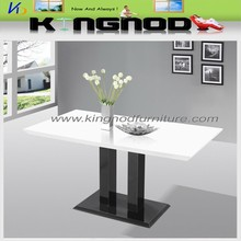 High Gloss/MDF Top Dinning Table/Dining Table Set Made in China