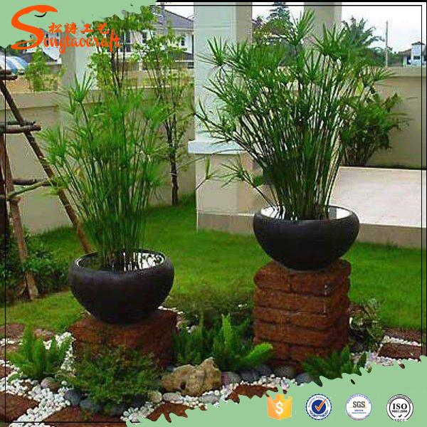 2016 atacado ao ar livre planta de bambu chin s para a for Plantas de plastico para decoracion