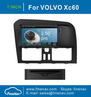 "7"" Android 4.0 touch screenCar DVD Player For Volvo XC60 with GPS Navgigation,3G/Wifi ,Bluetooth,Ipod,Free map Support DVR,DVB-T"
