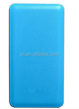 8000mah Dual USB Leather Ebai Power Bank Portable Phone Charger
