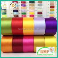 Silk Screen Polyester Satin Ribbon Manufacture