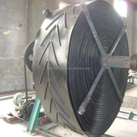 v-profile chevron belts/textile belts/patterned conveyor belts