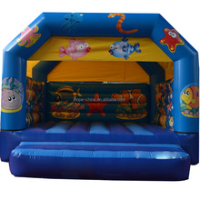 new design sea world inflatable bouncer,inflatable jumping house for kids