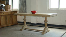 recycled wooden furniture/european style dining tables