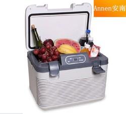 19L electric car cooler box car mini fridge portable mini fridge