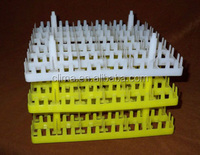 Plastic turnover 30-cell egg tray
