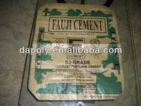 laminated square bottom gusset valve cement packing bags valve bag gusset