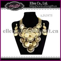 Fashion Gold Plated Jewelry Set AJS3975
