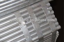 water pipe small diameter galvanized welded steel pipe