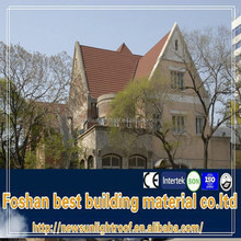 Roofing Factory With Color Stone Coated Metal Roof Tile For Africa/1340*420mm 0.4mm 0.45mm thickness Roofing Tile