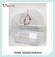 Small bird cage wire mesh,round bird cage,wire bird breeding cage