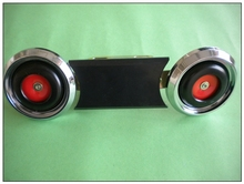 high quality popular electric rickshaw spare parts front double horn for india