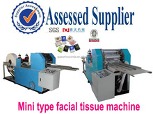 Hand Cutting and Emboss machine wih counting 2 lanes