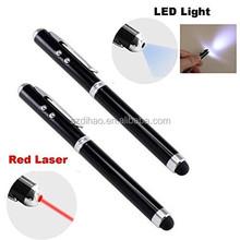 DIHAO touch pen 4 in 1 laser pointer stylus pen