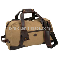 made in China natural canvas duffle bag