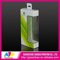 Custom clear plastic presentation box for screen protector packaging solution