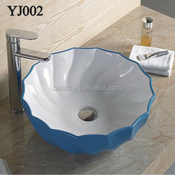 002 Colorful Modern Sanitary Ware Basin modern bathroom vanity ceramic home decorative items