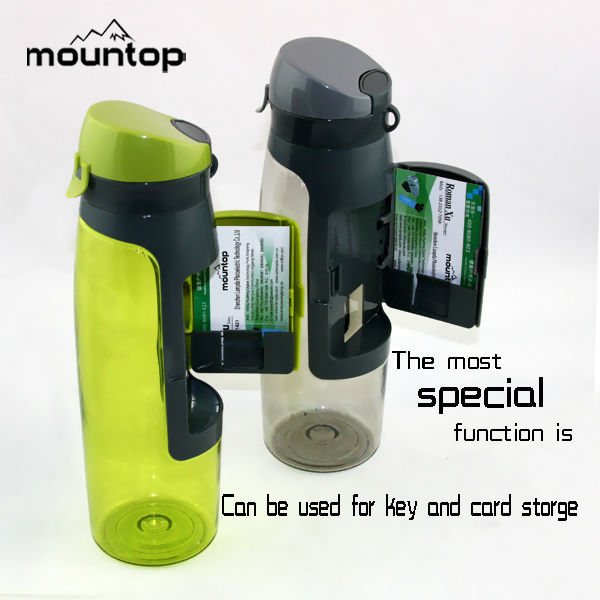 Sports Bottle With Storage Compartment: Monster Energy Drink Water Bottle,Herbalife Drinking Sport