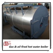 Hot selling 2 ton industrial gas oil fired steam boiler prices