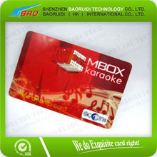 high quality credit card size cr80 membership card China supplier