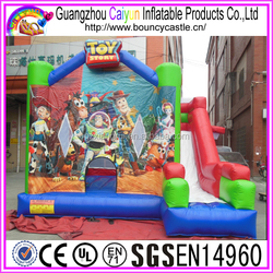 Toy Story Inflatable Bouncer With Basketball Hoop For Sale
