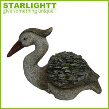 fashion garden animal polyresin handmade pelican