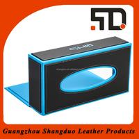 Alibaba Express Wholesale Products Leather Tissue Box Storage