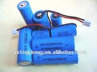 3.6 V Lithium/li ion c size battery 8500mah